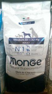 animali da compagnia tutto per il cane monge-superpremium cane Molino Peirone