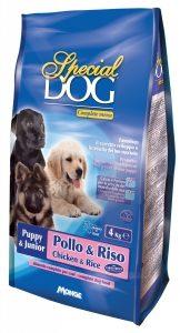 animali da compagnia tutto per il cane special dog cuccioli pollo e riso